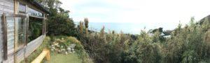 葉山を高台から一望